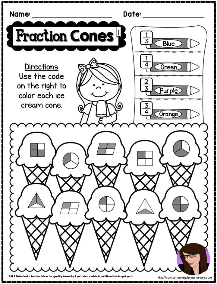 62 best images about {3rd Grade Math-Fractions} on