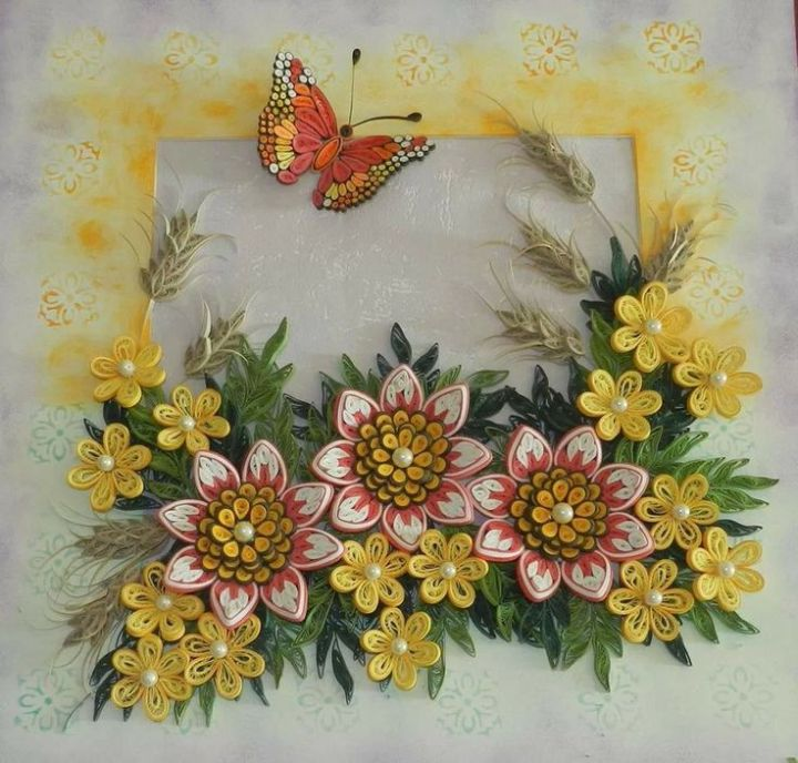 Paper Quilling Designs For Photo Frames | Frameswall.co
