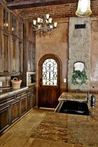 old world decor | Elegant Old World Style Kitchens ...