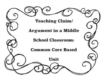 17 Best images about Claim/Argument: Middle School on