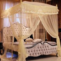 Luxury Canopy Beds | Luxury Royal 3 Color Princess Triple ...