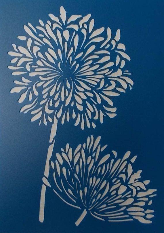 Floral Laser Cut Paper