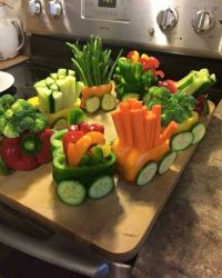 25+ beste ideen over Veggie Tray Ideas For Baby Shower op ...