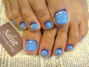 1000 ideas blue toe nails