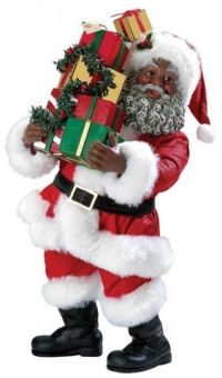 17 Best images about (African American) Black Santas and ...