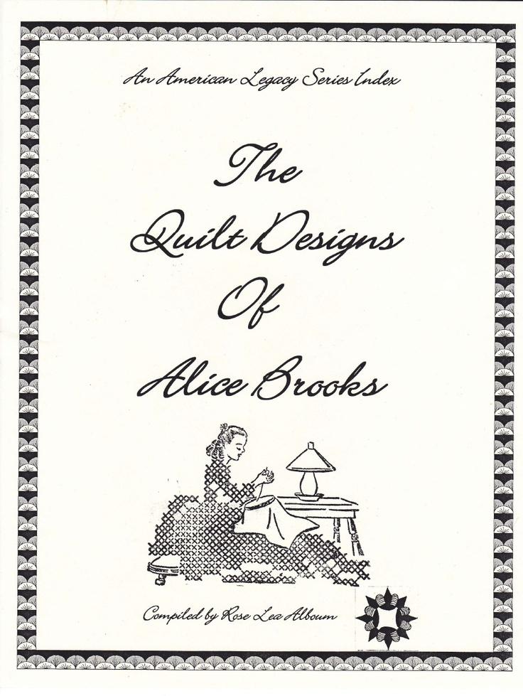 17 Best images about Vintage Quilts/Patterns on Pinterest