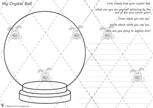 Teacher's Pet Activities & Games » Transition Crystal Ball