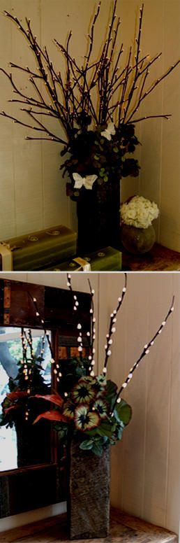 17 Best images about Decorating with twigs and branches on