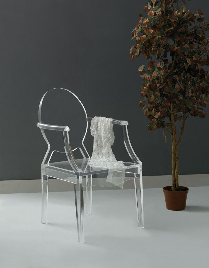 Acrylic Ghost ChairLucite Furniture  Translucent I want