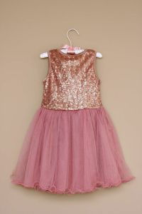 Over the Loom - Sequin Tulle Party Dress ~ Pink, $34.94 ...