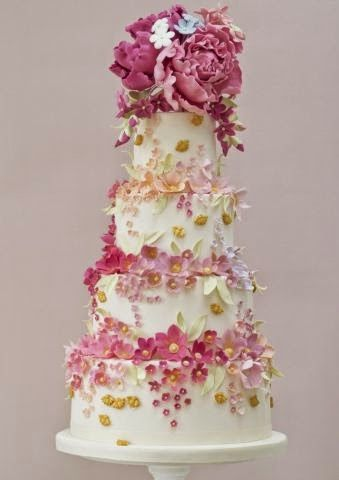 652 Best Images About Wedding Cakes On Pinterest Sugar