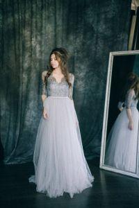 17 Best ideas about Grey Wedding Dresses on Pinterest
