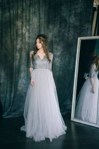 17 Best ideas about Grey Wedding Dresses on Pinterest ...