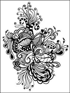 17 Best images about Zentangled Art on Pinterest