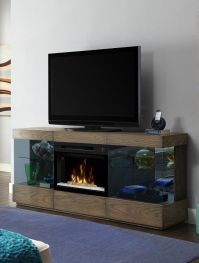 Dimplex Axel media cabinet with electric #fireplace ...