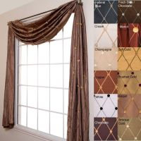 17 Best ideas about Scarf Valance on Pinterest | Window ...