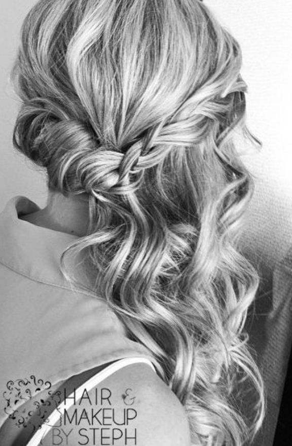 25 Best Ideas About Braided Half Updo On Pinterest Prom Hair