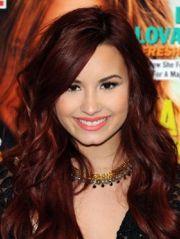 auburn red hair with highlights