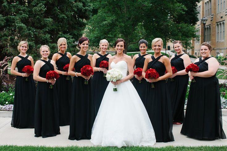 25+ Best Ideas About Black Bridesmaid Dresses On Pinterest