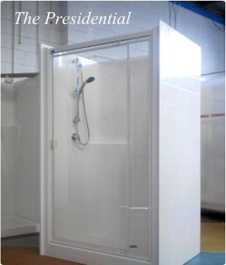 freestanding shower cubicles  Small house ideas  Pinterest  Cubicles Showers and Shower
