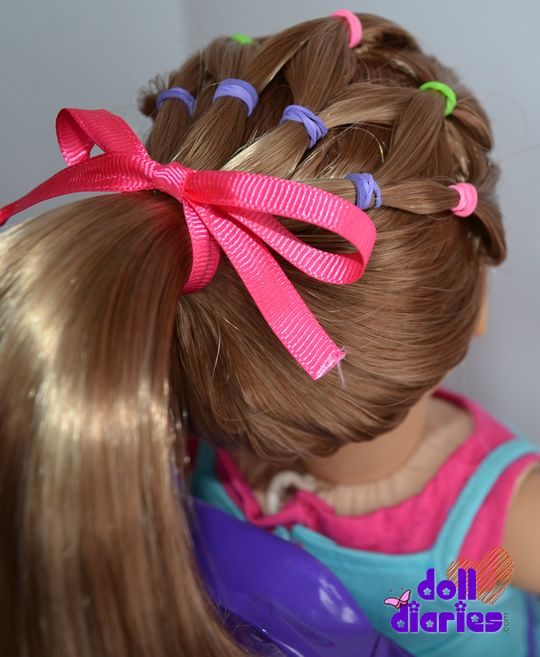25 Best Ideas About Doll Hairstyles On Pinterest Ag Doll