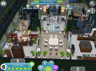 sims freeplay play houses interior designs kitchen floor island square interiors angle games counter casas ravenscar henry taken another inspo