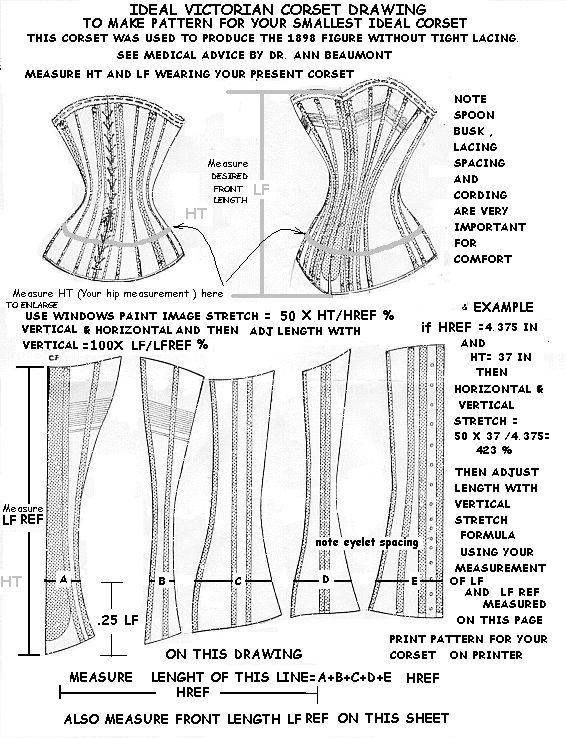 31 best images about Free Corset Patterns on Pinterest