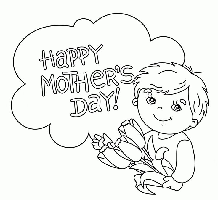 1000+ ideas about Mothers Day Coloring Pages on Pinterest