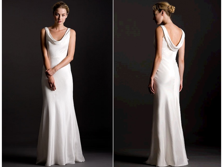 25 Best Images About Cowl Back Wedding Dress On Pinterest