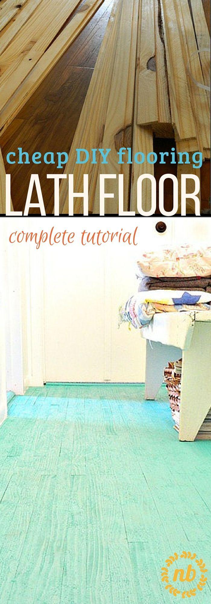 25 best Cheap flooring ideas on Pinterest  Cheap flooring ideas diy Cheap basement ideas and