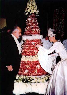 Celine dion wedding cake  Celine Dion  Pinterest