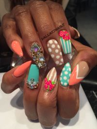 65 best images about Vibrant Styled Nails on Pinterest ...
