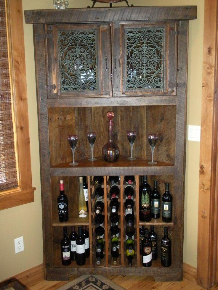 Best 25 Wine cabinets ideas on Pinterest  Farmhouse wine racks Wine bar cabinet and Beverage
