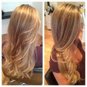 balayage hair color. ombr