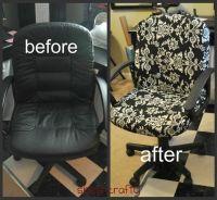Diy Office Chair Covers | myideasbedroom.com
