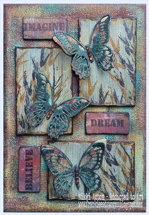 25 Best Ideas About Mixed Media Canvas On Pinterest