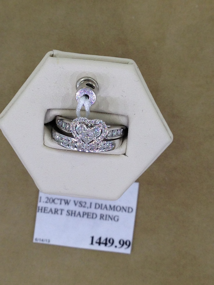 Costco Heart Wedding Ring I Am In Love Its Heart Shaped