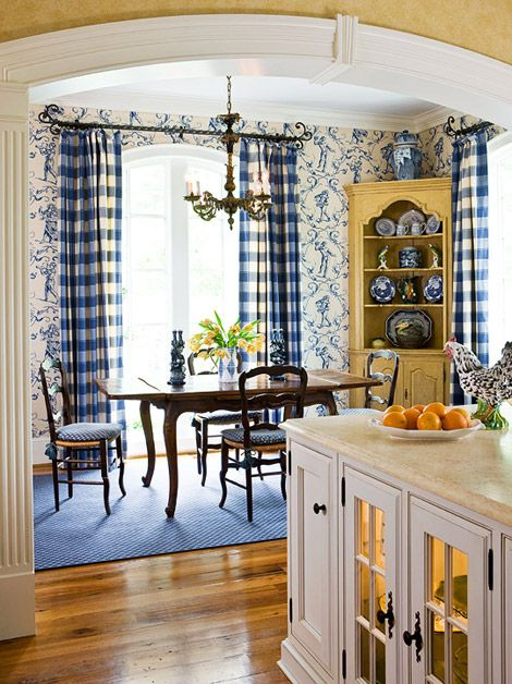French Country kitchen  ABSOLUTELY LOVE THIS  Blue and Yellow Decor  Pinterest  Kitchen