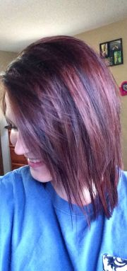 black cherry hair color dos