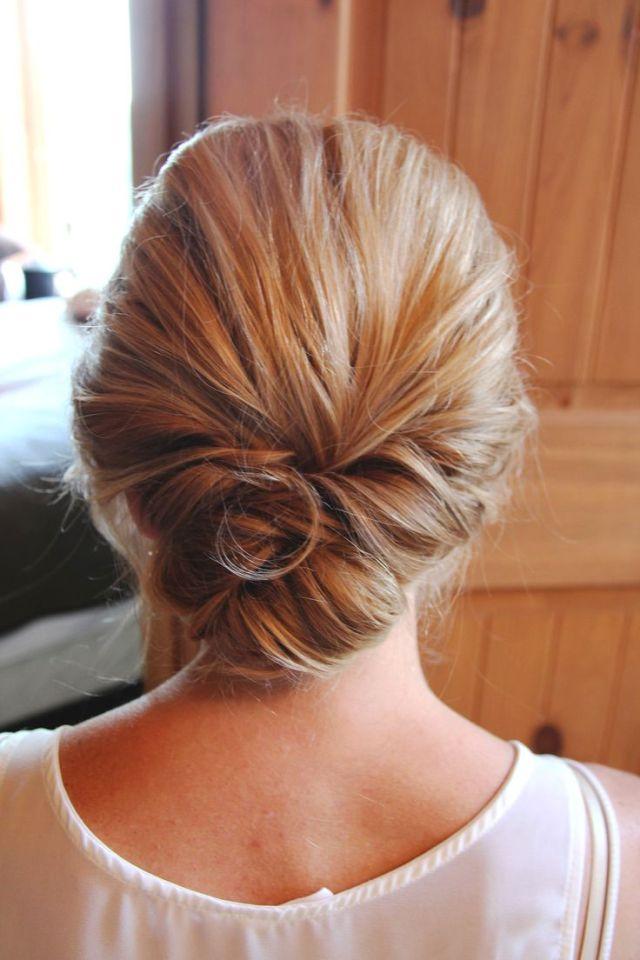 Best 25 Low  updo  ideas on Pinterest Low  bun wedding