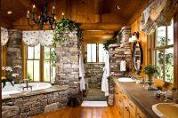 25+ best ideas about Log cabin bathrooms on Pinterest ...