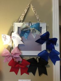 25+ best ideas about Cheer bow holders on Pinterest ...