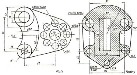 17 Best images about Mechanical drawings / Blueprints