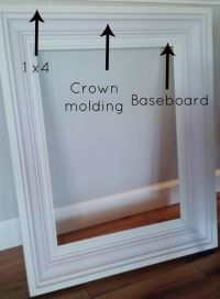 25+ best ideas about Picture frame molding on Pinterest