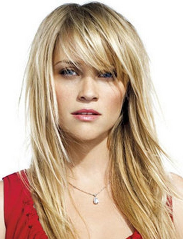 25 Best Ideas About Long Hairstyles With Bangs On Pinterest