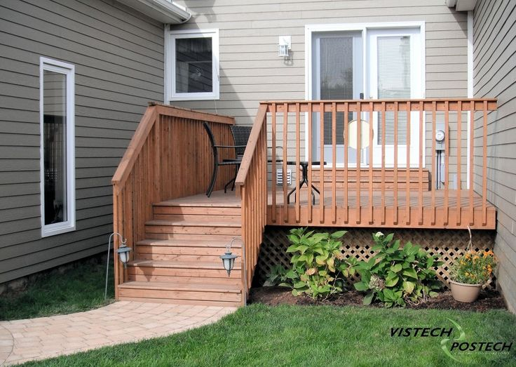 Small Decks Fronts Porches Small Back Yard Side Deck
