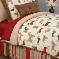 Doodlefish Best Friend Duvet, dog themed bedding, puppy ...