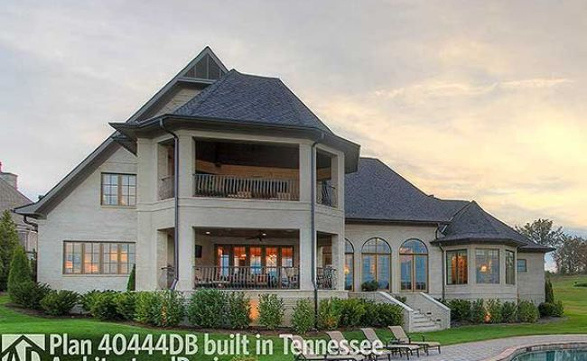 Plan 40444db Exceptional French Country Manor House