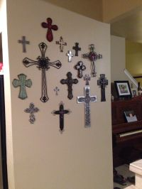 Top 25 ideas about Cross Wall Collage on Pinterest