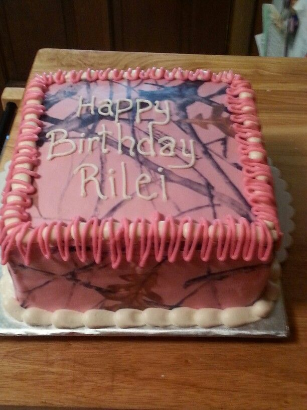 75 Best Images About Birthday Cake Peace Signs Pink Camo